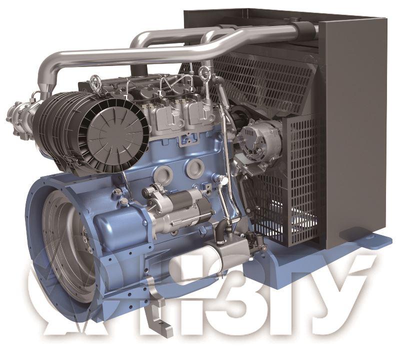 Двигатель Moteurs Baudouin 3M10G55/5e2 (45 кВт/1500)