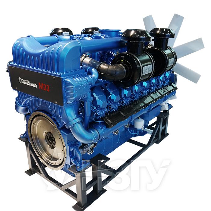 Двигатель Moteurs Baudouin 16M33G1700/5e2 (1530 кВт/1500)
