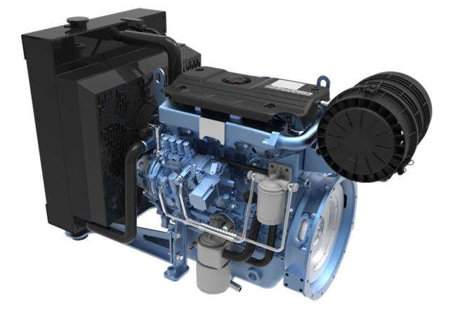 Двигатель Moteurs Baudouin 4M06G44/5e2 (36 кВт/1500)