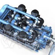 Двигатель Moteurs Baudouin 16M33G1700/5e2 (1530 кВт/1500) 2