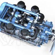 Двигатель Moteurs Baudouin 16M33G1700/5e2 (1530 кВт/1500) 3
