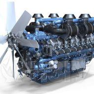 Двигатель Moteurs Baudouin 16M33G1700/5e2 (1530 кВт/1500) 6
