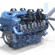 Двигатель Moteurs Baudouin 16M33G1700/5e2 (1530 кВт/1500) 7